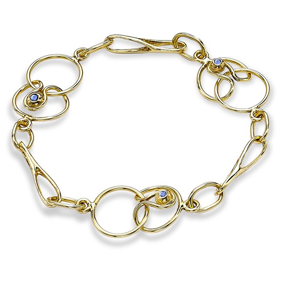 Short Link Bracelet, 18ct yellow gold
