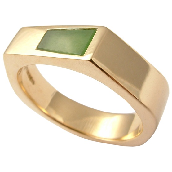 Gentlemans jadeite ring