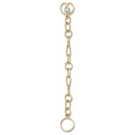 Long Link, 9ct gold plate